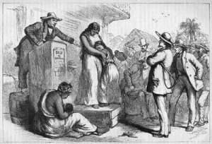Slaves on the Auction Block
