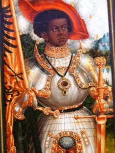 Saint Maurice as a Knight in Shining Armor