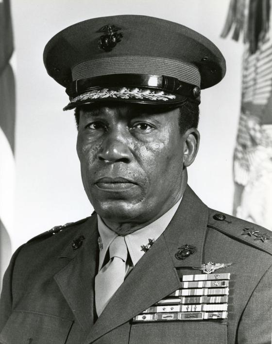 USMC Major General Frank E, Petersen Jr. 1932-2015